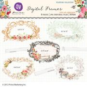 Tea Thyme digital frames