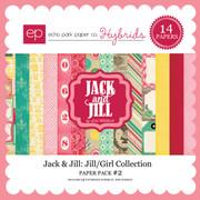Jack & Jill: Jill/Girl Paper Pack #2