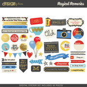 Magical Memories Digital Stickers