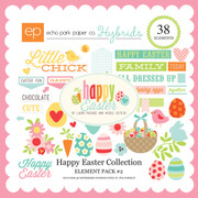 Happy Easter Element Pack #2