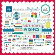 Birthday Wishes: Boy Element Pack #1
