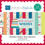 Birthday Wishes: Boy Paper Pack #1
