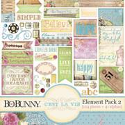 C'est la Vie Element Pack 2