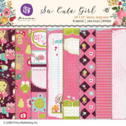 So Cute Girl Paper Pack