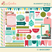 Tea Garden Element Pack 2