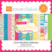 I Love Sunshine Paper Pack #1