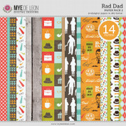 Rad Dad | Paper Pack 2