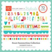 Sweet Summertime Element Pack #2