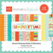 Sweet Summertime Paper Pack #1