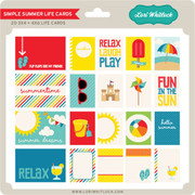 Simple Summer Life Cards