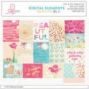 Beautiful Chic life card set 1