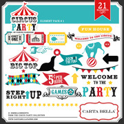 Circus Party Element Pack 1
