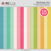 Birthday Girl | Solid & Gingham Papers