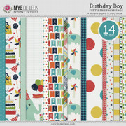 Birthday Boy | Patterned Papers