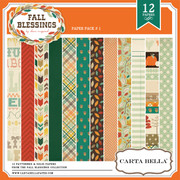 Fall Blessings Paper Pack 1