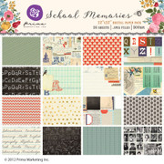 School Memories paper pack