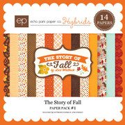 The Story of Fall Paper Pack 1