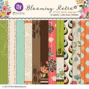 Blooming Retro Paper Pack