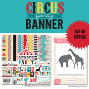 Circus Party Banner Supplies