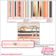Apricot and Persimmon Full Collection