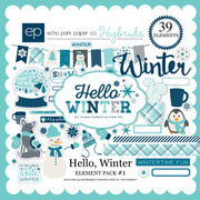 Hello Winter Element Pack 1