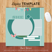Jessica Sprague She Template