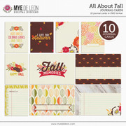 All About Fall | Journal Cards