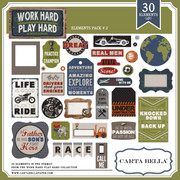 Work Hard Play Hard Element Pack 2