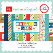 Little Man Paper Pack 2