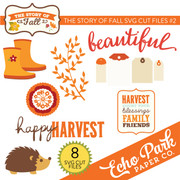 The Story of Fall SVG Die Cut Shapes #2