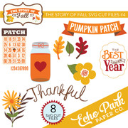 The Story of Fall SVG Die Cut Shapes #4