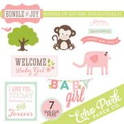 Bundle of Joy - Girl SVG Die Cut Shapes #1
