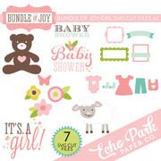 Bundle of Joy - Girl SVG Cut Files #2