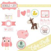 Bundle of Joy - Girl SVG Cut Files #3
