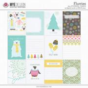 Flurries   3x4 Journal Cards
