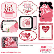 Be Mine - Printable Cards