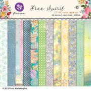 Free Spirit digital paper pack