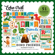 Dino  Friends Element Pack #1