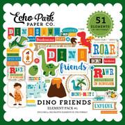 Dino  Friends Element Pack #1