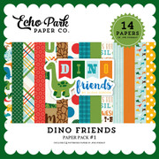 Dino  Friends Paper Pack #1