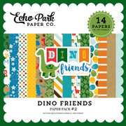 Dino  Friends Paper Pack #2