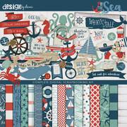 By the Sea Digital Kit