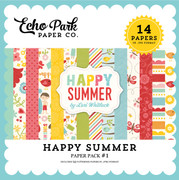Happy Summer Paper Pack #1