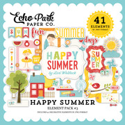 Happy Summer Element Pack #3