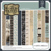 Old World Travel Paper Pack #1