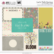 Let's Talk Spring | 4x6 Journal Cards