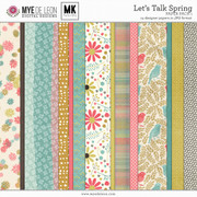 Let's Talk Spring | Paper Pack 1