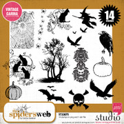 THE SPIDER'S WEB Stamps