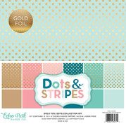 Dots and Stripes Gold Foil Collection Kit
