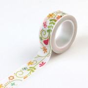 Happy Summer Decorative Tape - Ivy Floral